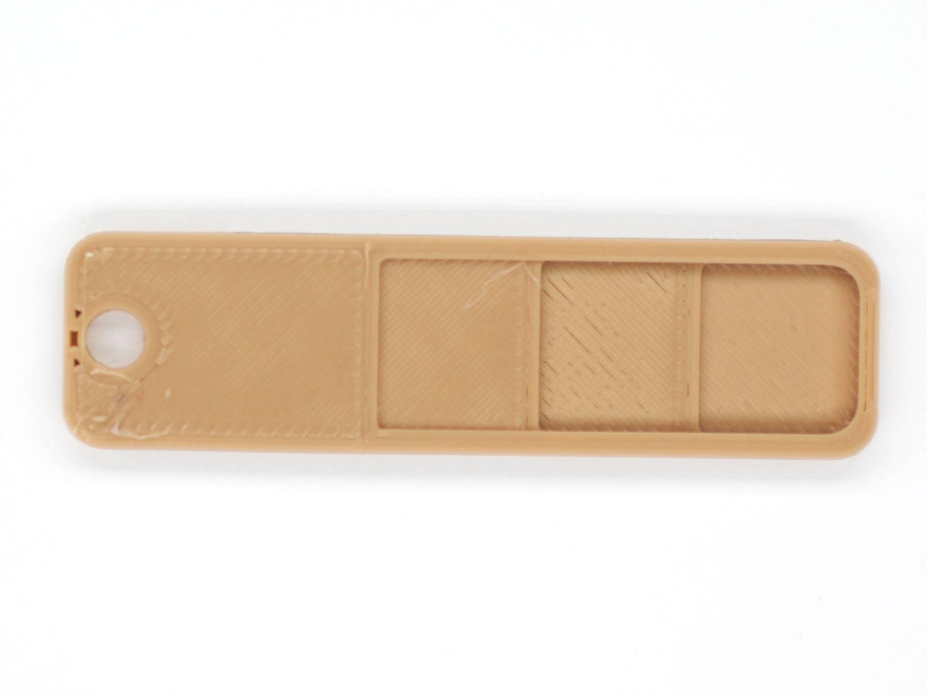 An image of the front of the color swatch.