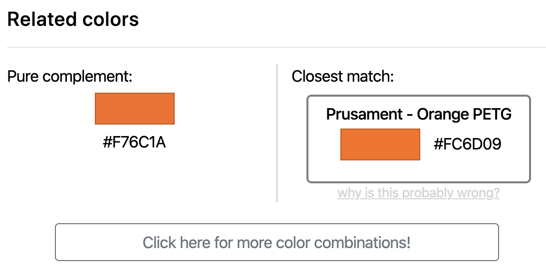 An image showing the complement color section.